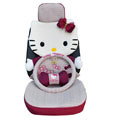 Hello Kitty Auto Front Rear Car Seat Cover sets - rose