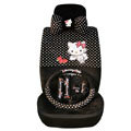 Hello Kitty universal Car Seat Covers sets - black