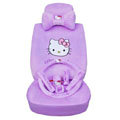 Hello Kitty universal Car Seat Covers sets - purple