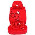Hello Kitty universal Car Seat Covers sets - red
