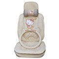 Hello Kitty Auto ice silk Car Seat Covers - beige