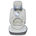 Hello Kitty Auto ice silk Car Seat Covers - gray