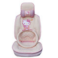 Hello Kitty Auto ice silk Car Seat Covers - pink