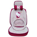 Hello Kitty Auto ice silk Car Seat Covers - rose