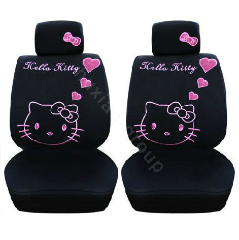 seat covers hello kitty seat covers. Black Bedroom Furniture Sets. Home Design Ideas