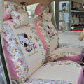 Hello Kitty ice silk Car Seat Covers sets - pink
