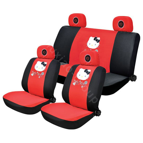 hello kitty car seat covers cover dudes. Black Bedroom Furniture Sets. Home Design Ideas