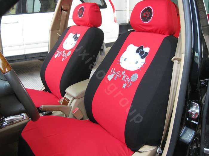 car seat covers hello kitty. Black Bedroom Furniture Sets. Home Design Ideas