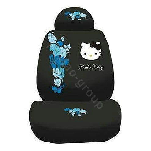 Buy Wholesale Hello Kitty Bud Silk Car Seat Covers Sets Black Car Seat Covers Accessories
