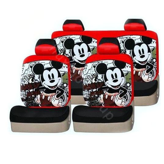 mickey mouse red car seat set 2017 2018 best cars reviews. Black Bedroom Furniture Sets. Home Design Ideas