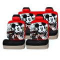 Mickey Mouse universal Car Seat Covers sets - red EB001