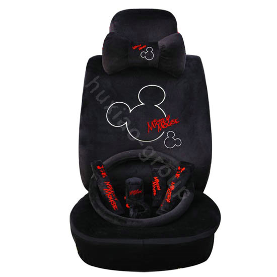 Buy Wholesale Mickey Mouse Plush Fabrics Car Seat Covers
