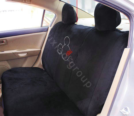 buy wholesale mickey mouse plush fabrics car seat covers sets black car seat covers. Black Bedroom Furniture Sets. Home Design Ideas