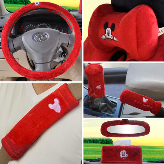 Buy Wholesale Mickey Mouse Ice Silk Car Seat Covers