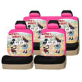 Mickey Mouse universal Car Seat Covers sets - pink EB010