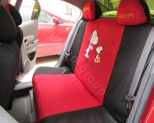 Buy Wholesale Snoopy Auto Car Front Rear Seat Covers