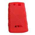 TPU silicone cases covers for BlackBerry 9530 - red