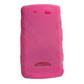 TPU silicone cases covers for BlackBerry 9530 - rose