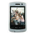 Silicone Cases skin for BlackBerry Storm 9530 - white