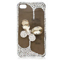 Bling Butterfly crystal case covers for iPhone 4G