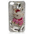 Bling Elephant crystal case covers for iPhone 4G