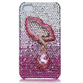 Bling crystal cases covers for iPhone 4G - pink