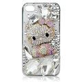 Hello Kitty bling crystal case covers for iPhone 4G