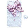 Bling Bowknot Love Pearl cases covers for iPhone 4G