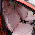 Bud silk car seat covers Cotton seat covers - Pink EB002
