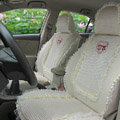 Winnie the pooh Ice silk universal Car Seat Covers - Beige