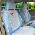 Winnie the pooh Ice silk universal Car Seat Covers - Blue EB004