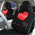 Human Touch Car Seat Covers Custom seat covers - Black