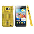 IMAK Mesh Hard Cases Covers For Samsung i9100 GALAXY SII S2 - Yellow