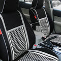 Ice silk Car Seat Covers Custom seat covers - Black