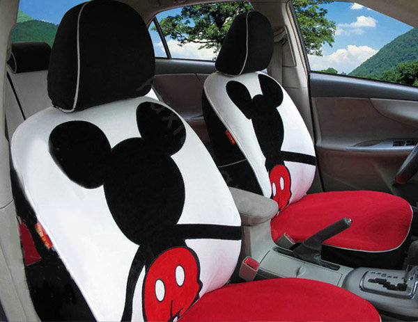 buy wholesale mickey mouse car seat covers custom seat covers red car seat covers accessories. Black Bedroom Furniture Sets. Home Design Ideas