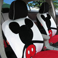 Mickey Mouse Car Seat Covers Custom seat covers - Red