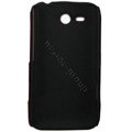 ECBOZ Slim Scrub Silicone hard cases Covers for HTC freeStyle F5151 F8181 - Black