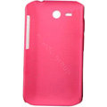 ECBOZ Slim Scrub Silicone hard cases Covers for HTC freeStyle F5151 F8181 - Pink