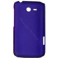 ECBOZ Slim Scrub Silicone hard cases Covers for HTC freeStyle F5151 F8181 - Purple
