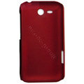ECBOZ Slim Scrub Silicone hard cases Covers for HTC freeStyle F5151 F8181 - Red