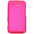 ECBOZ Slim Scrub Silicone hard cases Covers for HTC freeStyle F5151 F8181 - Rose