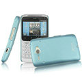 IMAK Slim Scrub Silicone hard cases Covers for HTC Chacha A810e G16 - Blue