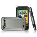 IMAK Slim Scrub Silicone hard cases Covers for HTC S710d Incredible 2 G11 - Gray