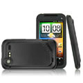 IMAK Slim Scrub Silicone hard cases Covers for HTC S710e Incredible S G11 - Black