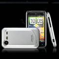 IMAK Slim Scrub Silicone hard cases Covers for HTC S710e Incredible S G11 - Silver(Limited Edition)