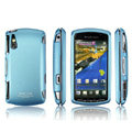 IMAK Slim Scrub Silicone hard cases Covers for Sony Ericsson Xperia Play Z1i R800i - Blue