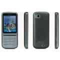 IMAK Ultra-thin Scrub Transparency cases covers for Nokia C3-01 - Black