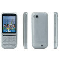 IMAK Ultra-thin Scrub Transparency cases covers for Nokia C3-01 - White