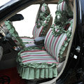 Universal Car Seat Covers Cotton seat covers - Green EB002