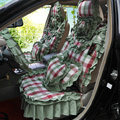 Universal Car Seat Covers Cotton seat covers - Green EB003